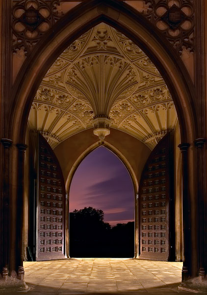 Arches, St. John's College, Cambridge, England