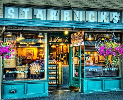 The Orginal Starbucks, Seattle, Washington