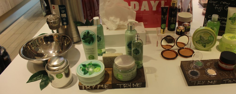 Two Amazing The Body Shop events