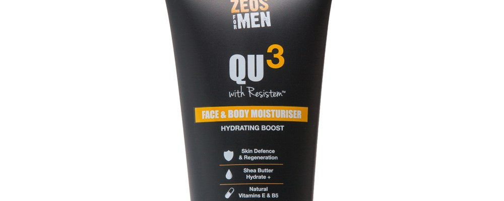 The Zest Skin Around | Zeos For Men QU3 Range
