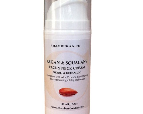 Natural Skin Is Just Down The Lane | Chambers & Co Argan and Squalane Face and Neck Cream