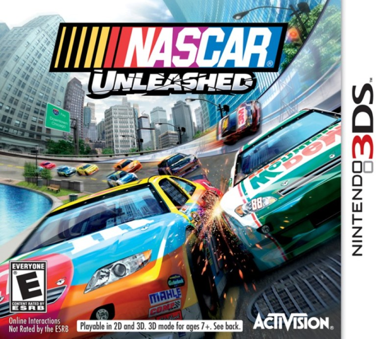 NASCAR Unleashed 3DS Game