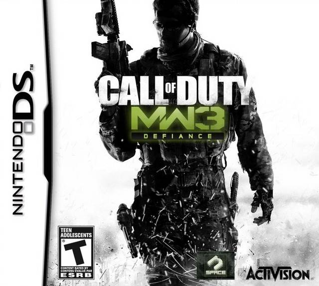 Call Of Duty MW3 Defiance DS Game