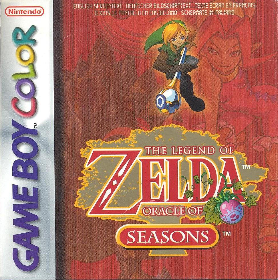 The Legend Of Zelda Oracle Of Seasons Game Boy Color
