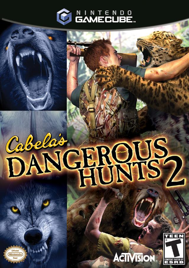 Cabelas Dangerous Hunts 2 Gamecube Game