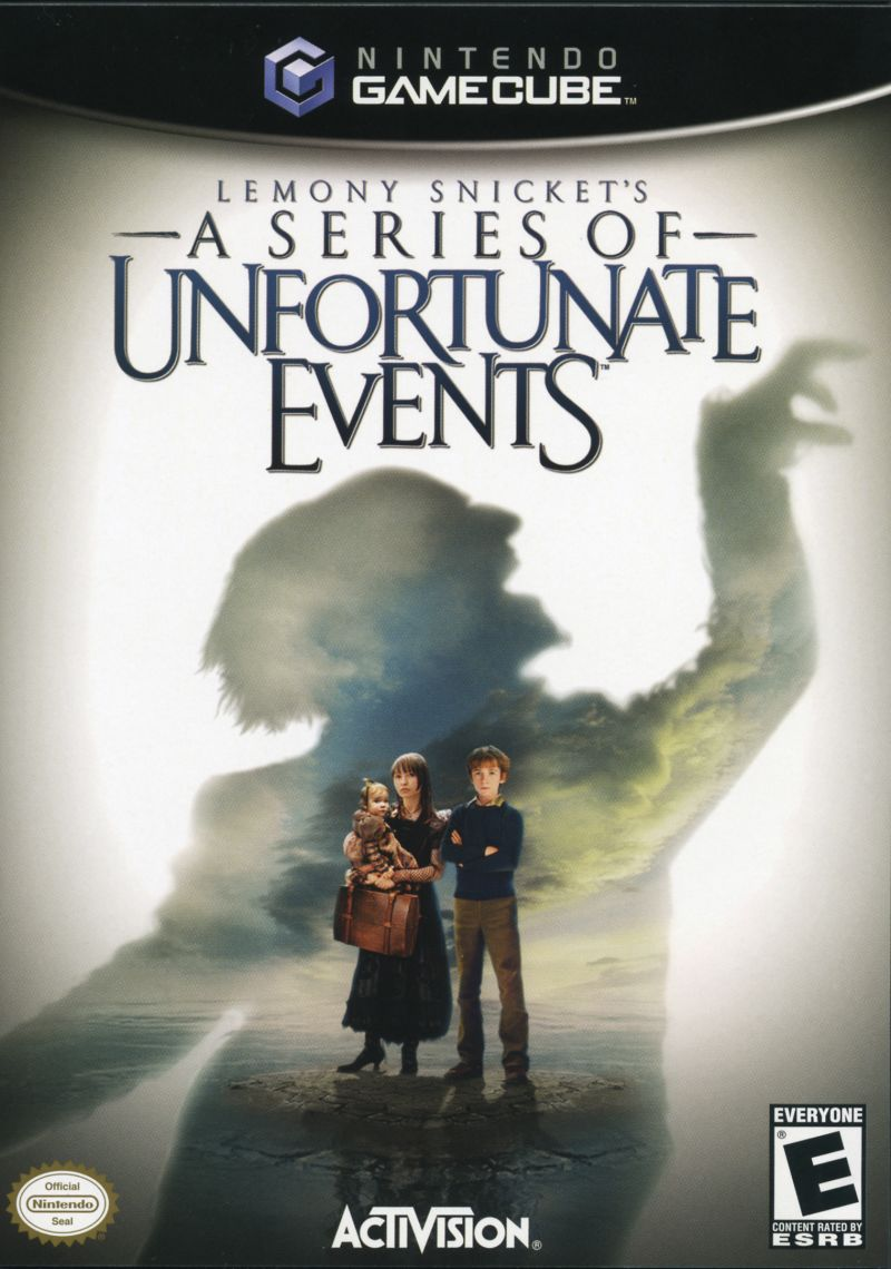 Lemony Snickets A Series Of Unfortunate Events Gamecube Game