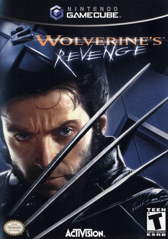 X Men Wolverines Revenge Gamecube Game