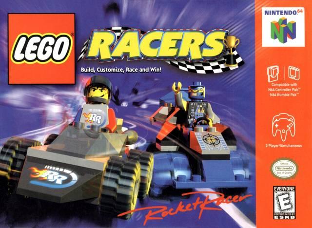 Lego Racers Nintendo 64 Game