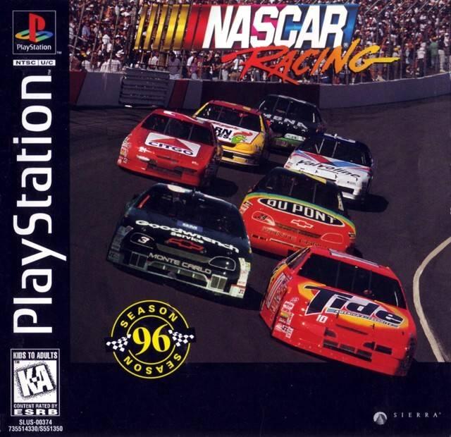 NASCAR Racing Sony Playstation