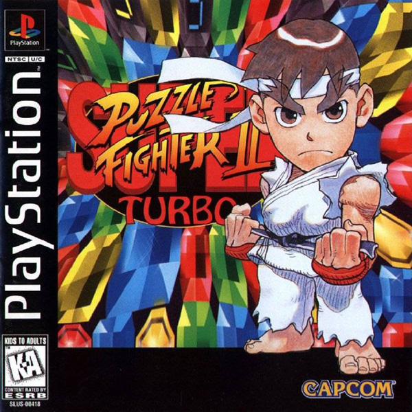 Super Puzzle Fighter II Turbo Sony Playstation