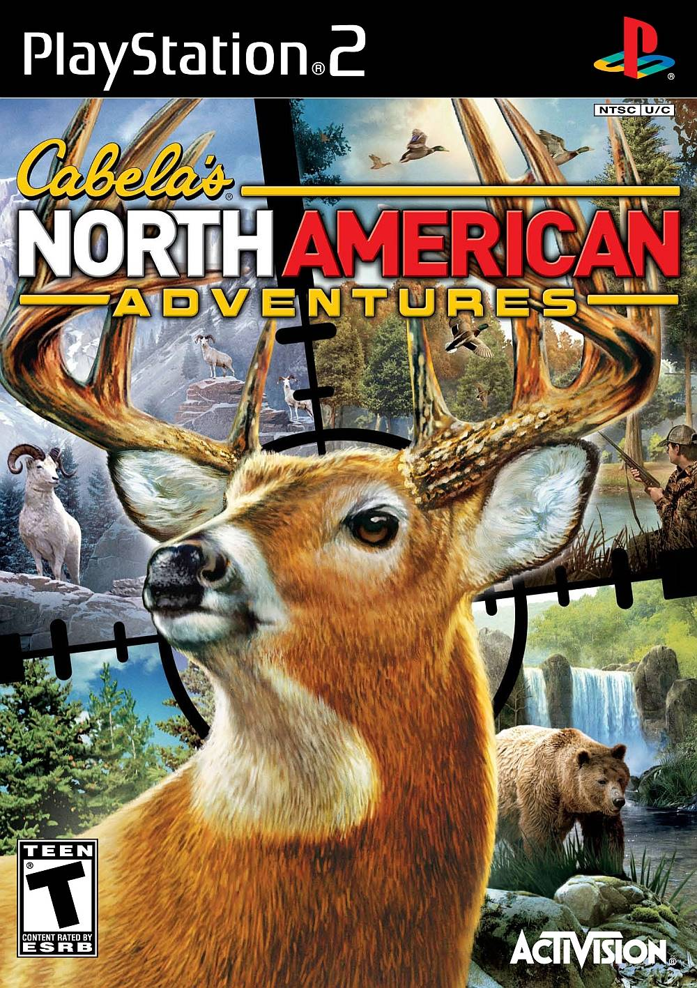 PS2 Cabelas North American Adventure Playstation 2 Game