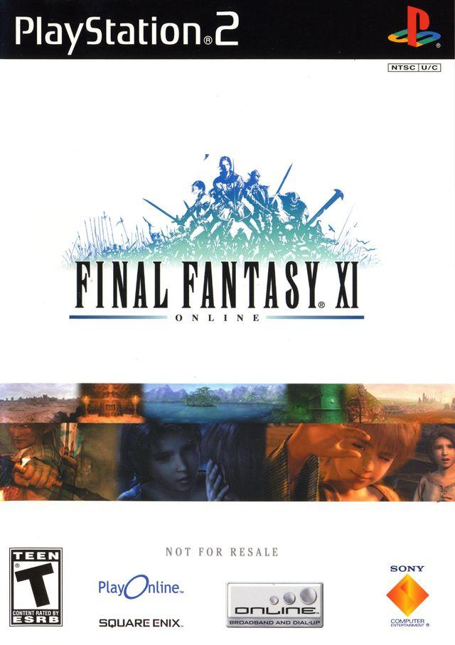 Final Fantasy XI Online Playstation 2 Game