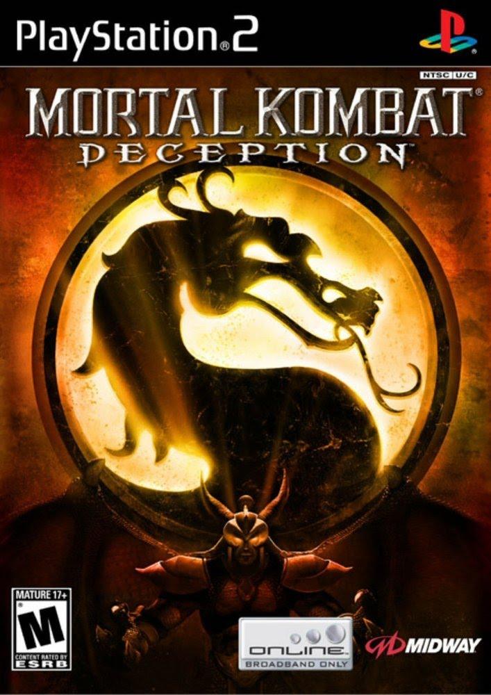 Mortal Kombat Deception Sony Playstation 2 Game
