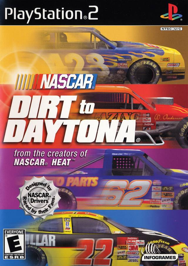 NASCAR Dirt To Daytona Sony Playstation 2 Game