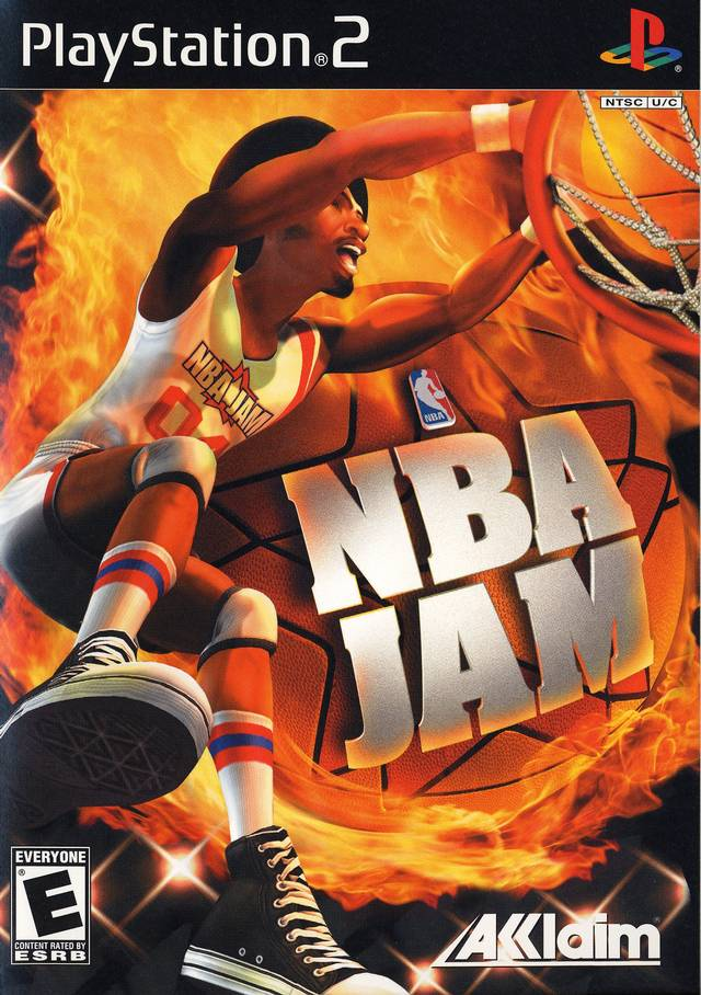 NBA Jam Sony Playstation 2 Game