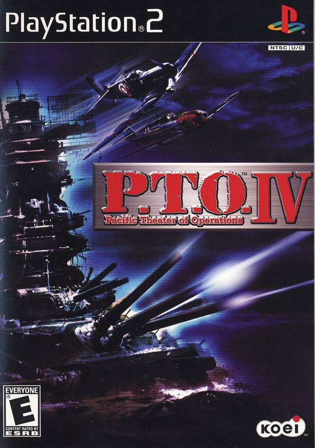 PTO IV Pacific Theater Of Operations Sony Playstation 2