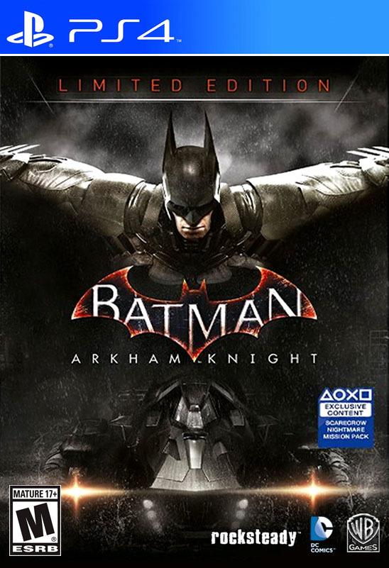 Batman: Arkham Knight Limited Edition - Playstation 4 Game