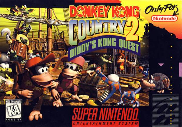 Buy SNES Super Nintendo Games Donkey Kong Country 2
