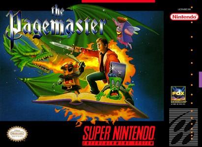 Pagemaster SNES Super Nintendo