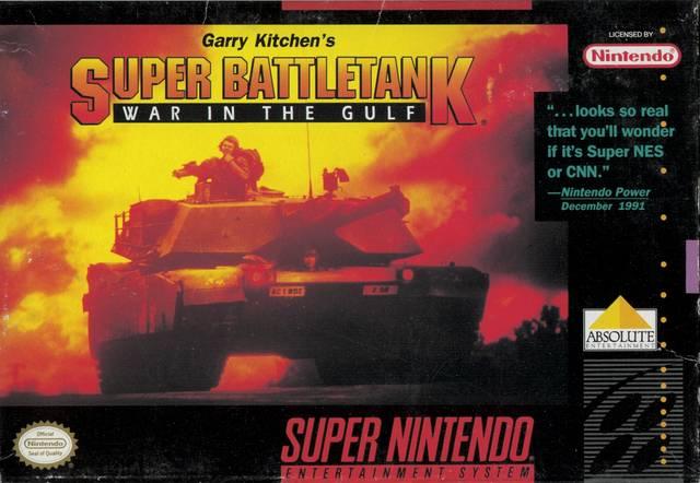 Super Battletank SNES Super Nintendo