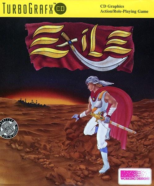 Exile TurboGrafx CD Game