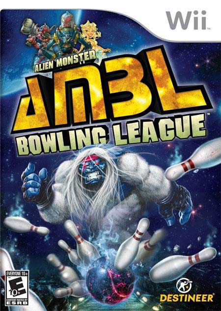 Alien Monster Bowling League Nintendo WII Game