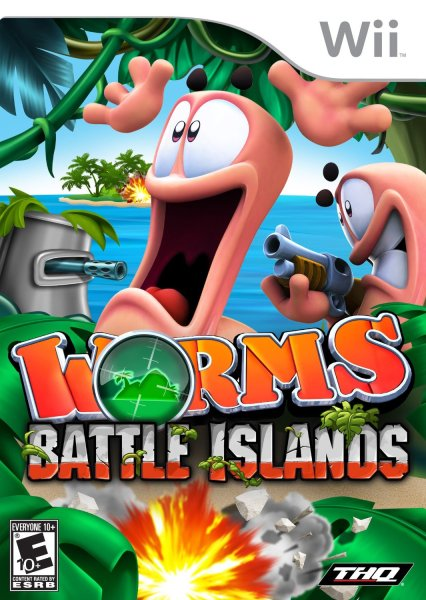 Worms  Battle Islands Nintendo WII Game