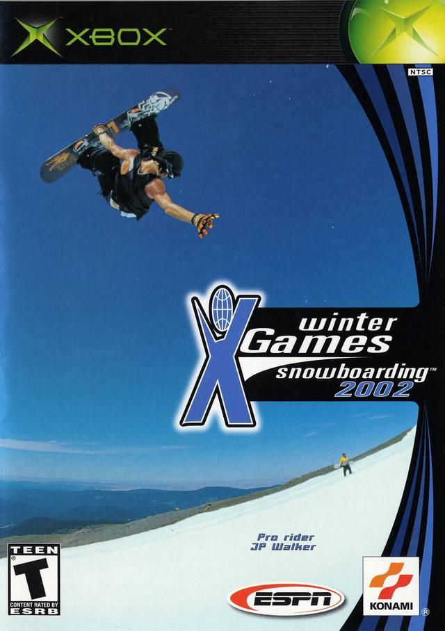 ESPN X Games Snowboarding 2002 Xbox