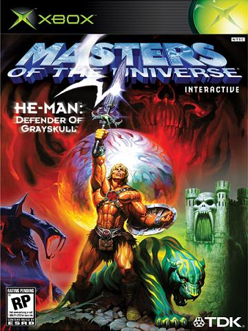 He Man Defender Of Grayskull Xbox