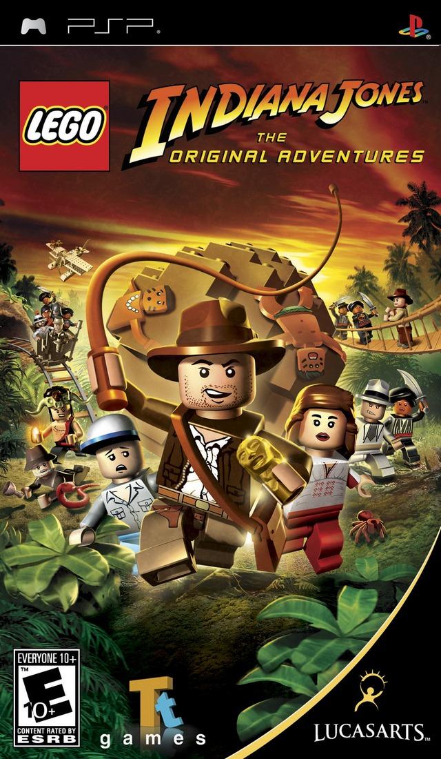 Lego Indiana Jones The Original Adventures PSP Game