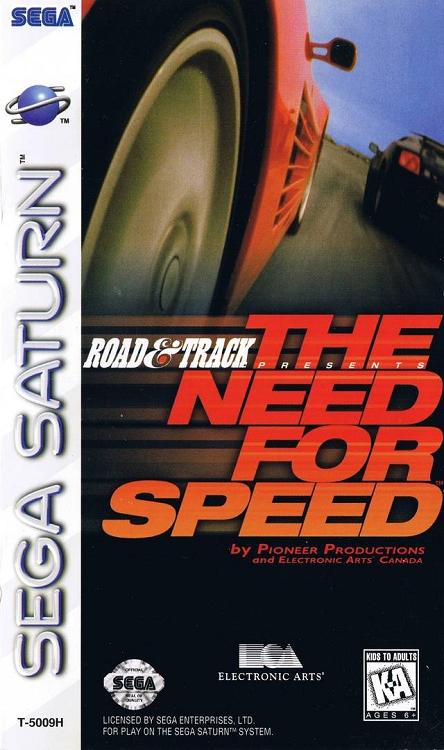 Need For Speed Sega Saturn Game
