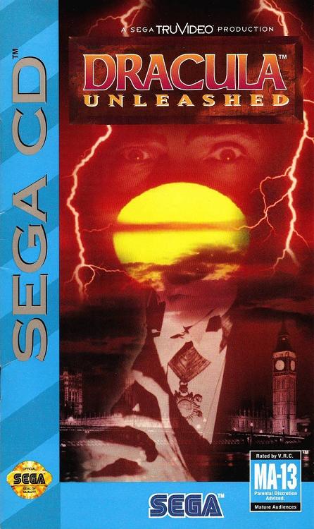 Dracula Unleashed Sega CD Game