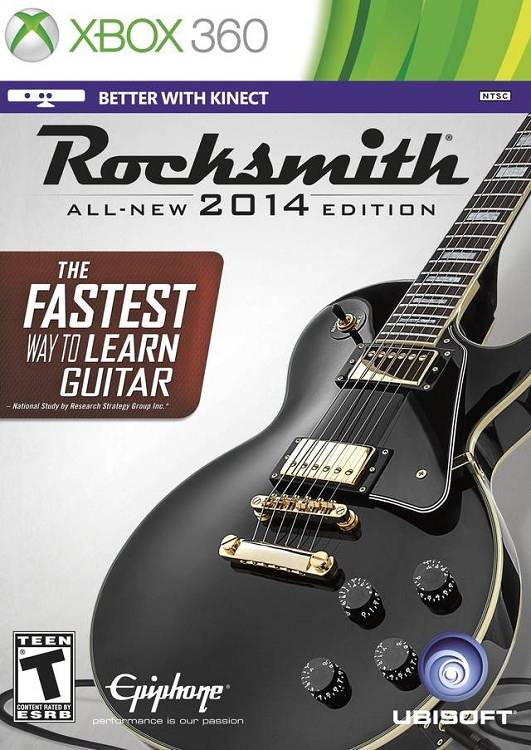 Rocksmith 2014 Bundle With Cable Xbox 360 Game