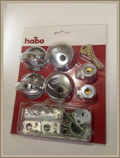 Habo-Dorma 2021 tuplapesä pakkaus kromi
