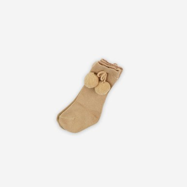 Calcetines_pompom_beige