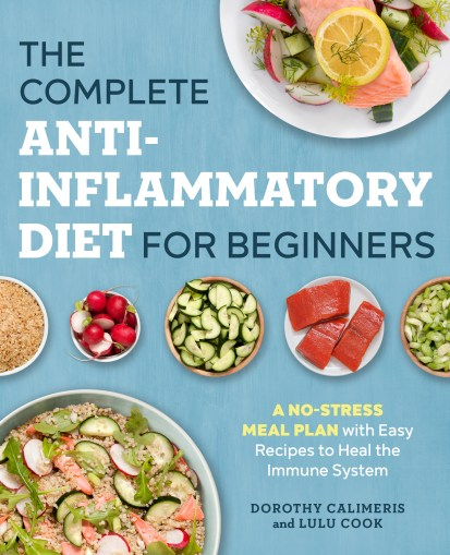 The Complete Anti-Inflammatory Diet for Beginners book cover