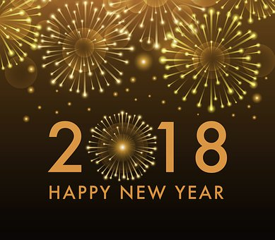 2018 sparkles with healthy resolutions!
