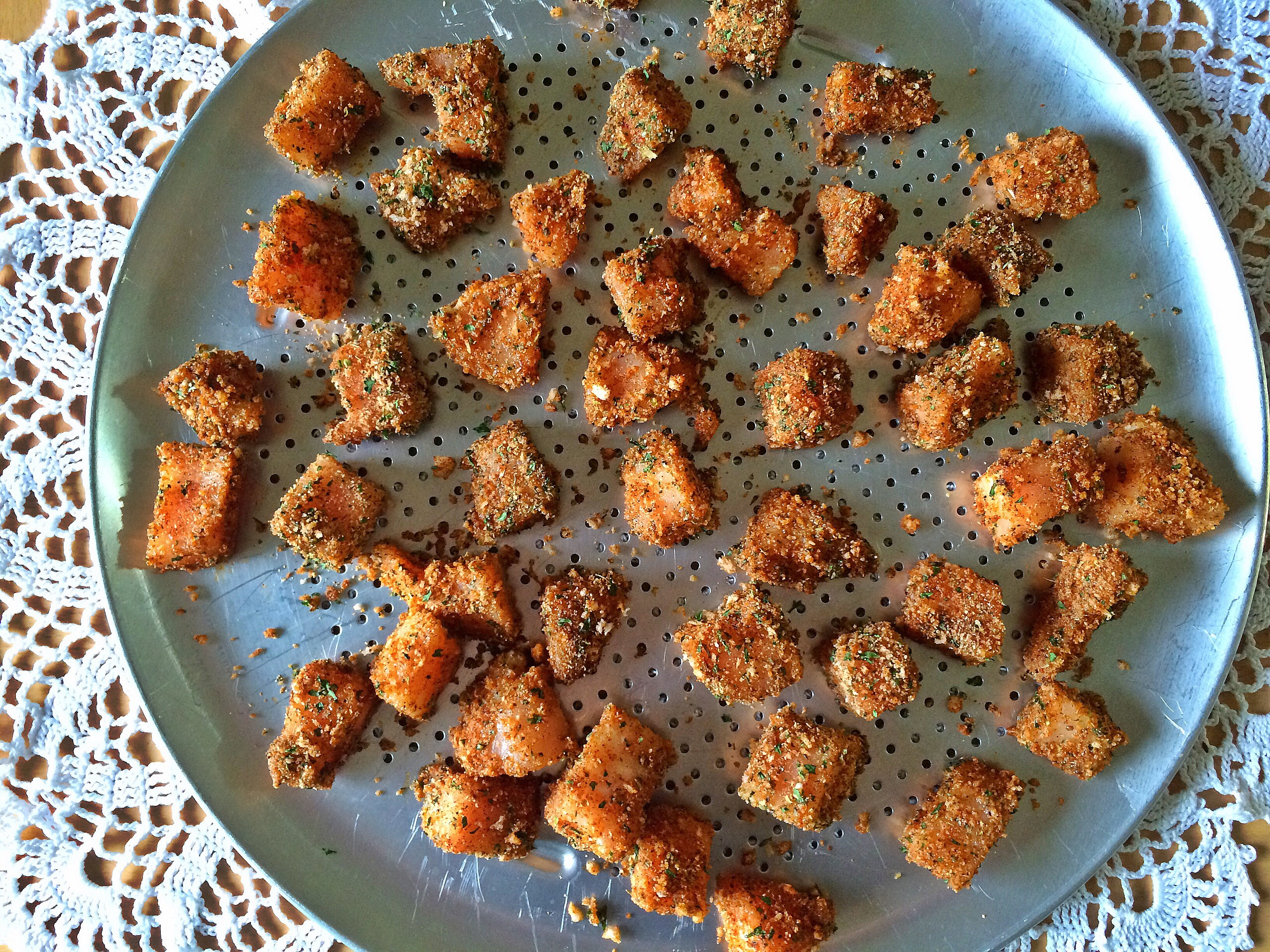 Healthy, Homemade  Chicken Nuggets