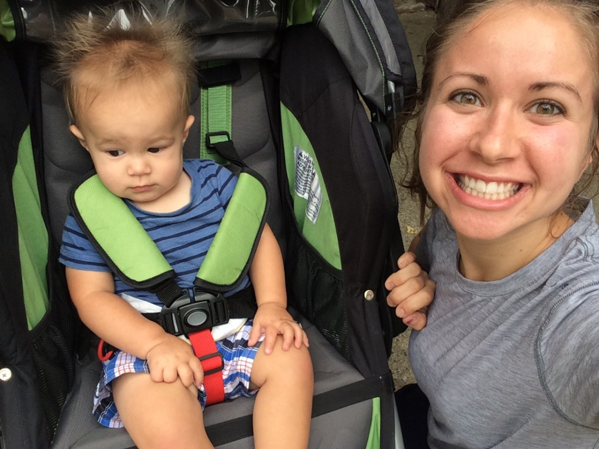 What Training for a Marathon with a Toddler Looks Like
