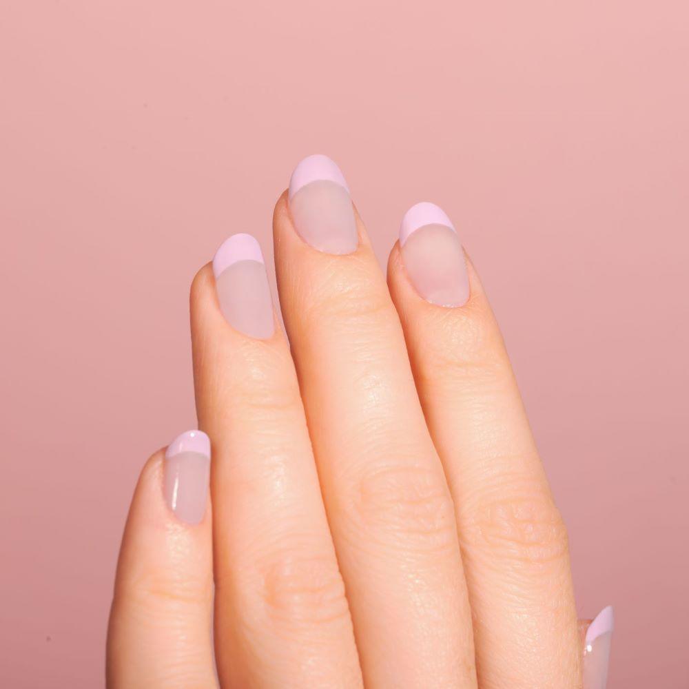 French Manicure Ideas Lavender French Tips Lulus Com Fashion Blog