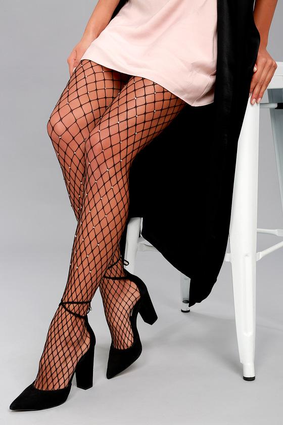 Resultado de imagen de fishnets with rhinestones outfit