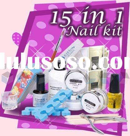 Fingrs St It Nail Art Kit Images Designs Kiss Salon Secrets Starter