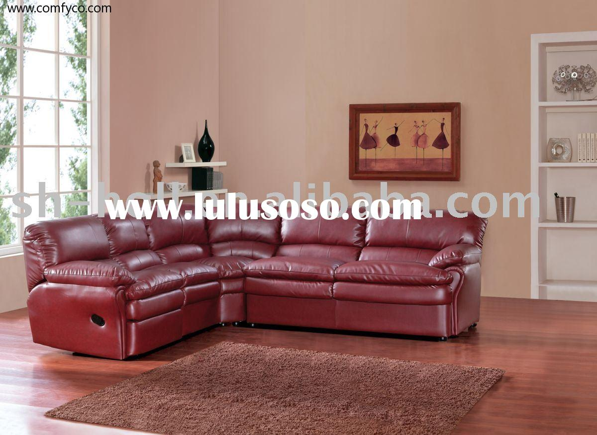 Leather Sectionals With Recliners Home Decoration Ideas & Red Leather Sectional Sofa With Recliners | Centerfieldbar.com islam-shia.org