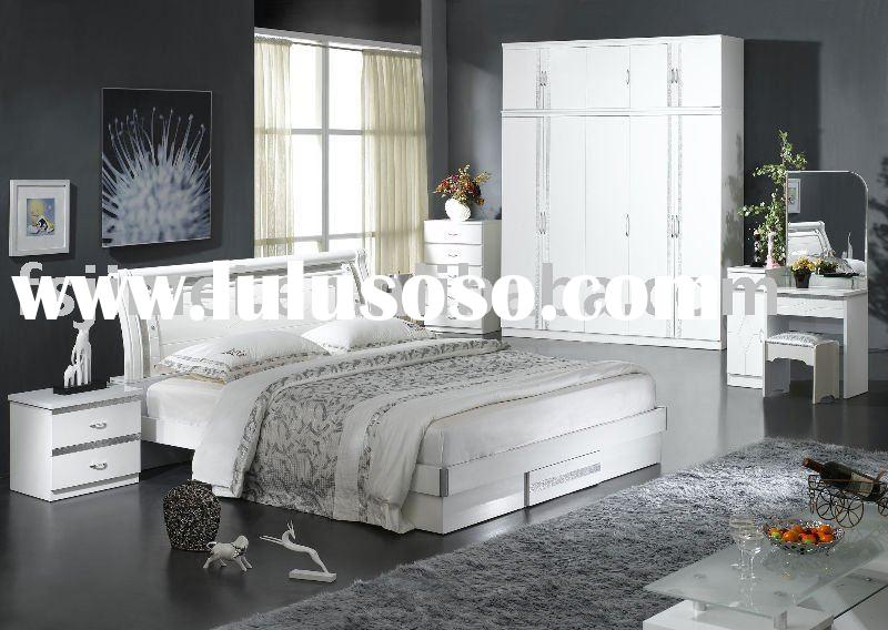 Ice High Gloss White Bedroom Furniture