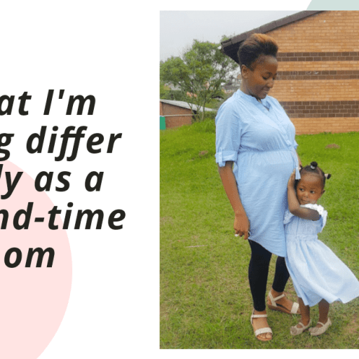 What I'm doing differently as a second-time mom.