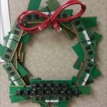 Decoração de Natal com reciclagem tecnológica