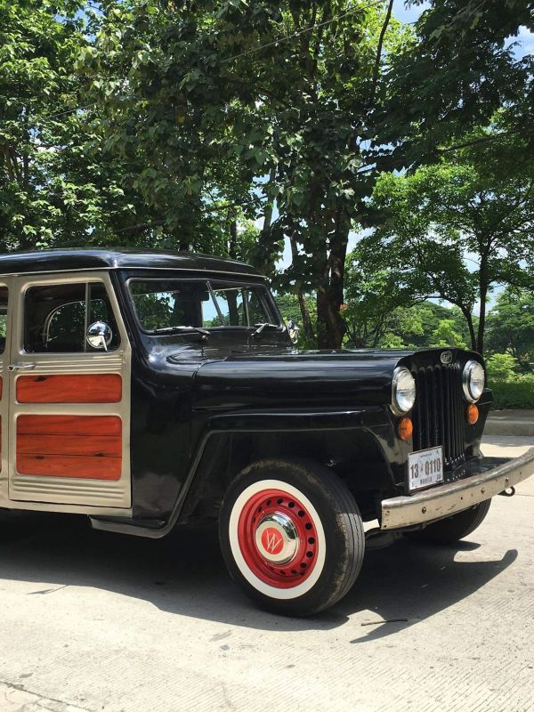 Rendition Of A Dream – A 1946 Willys Overland Wagon