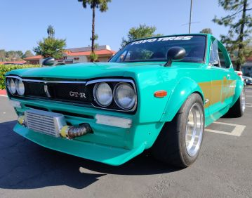 ZERO to SEMA in 60 days – a 1972 Nissan Skyline Hakosuka Project Car