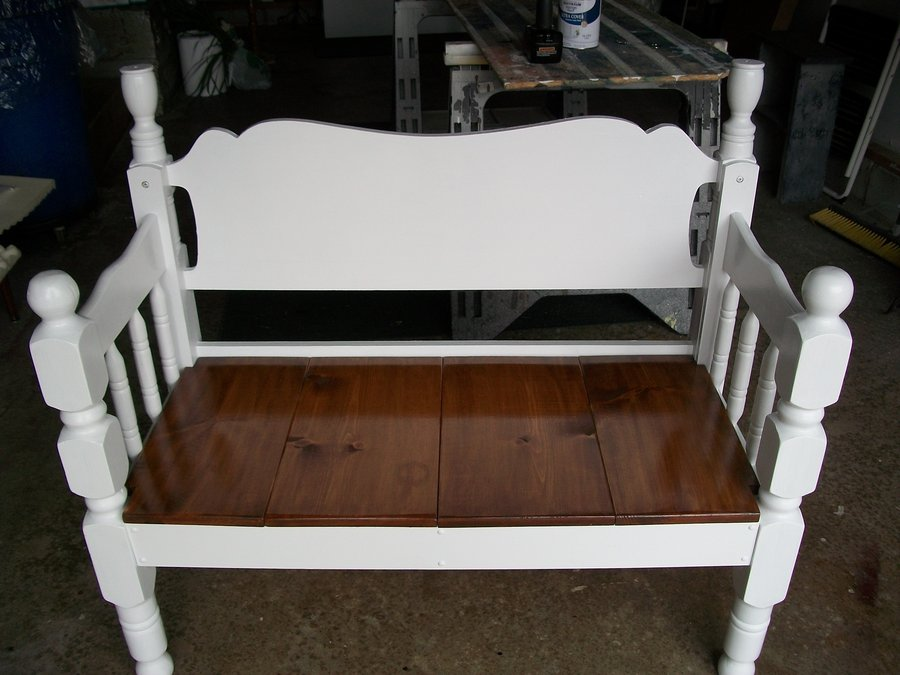 Another Bed Frame Bench By Jfred Lumberjocks Com