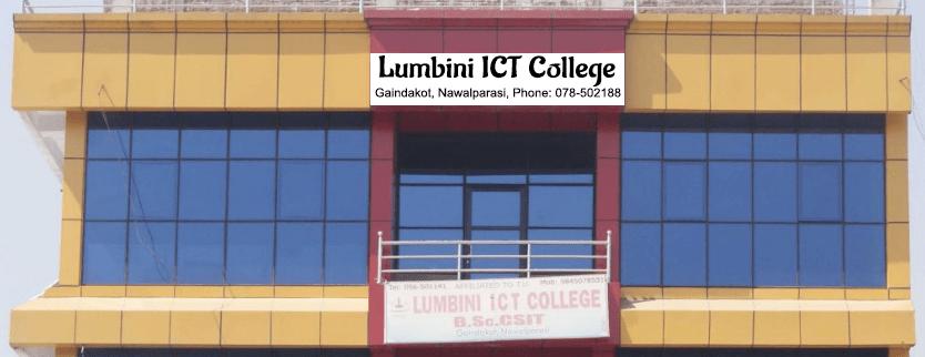 Lumbini ICT College Building